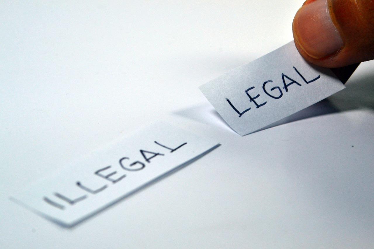 合法・非合法の画像